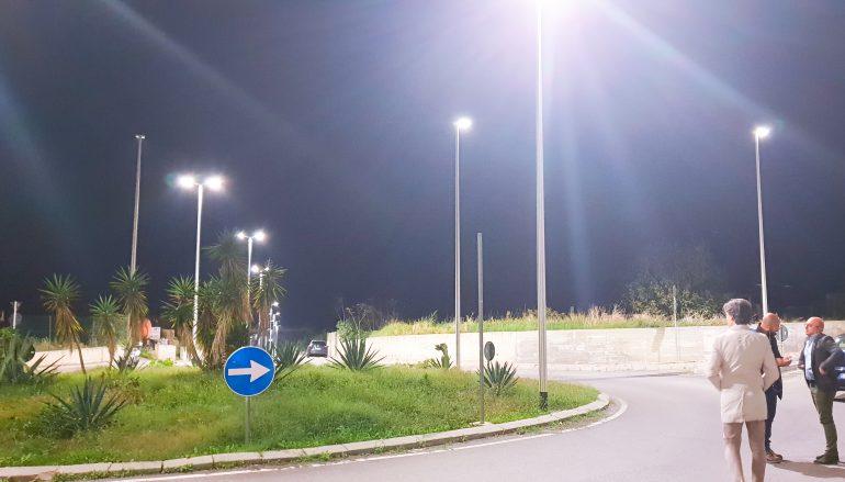 Nuovo impianto illuminazione a Ravagnese
