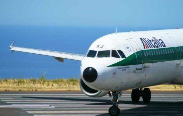 Avaria al motore: volo Alitalia rientra a Lamezia