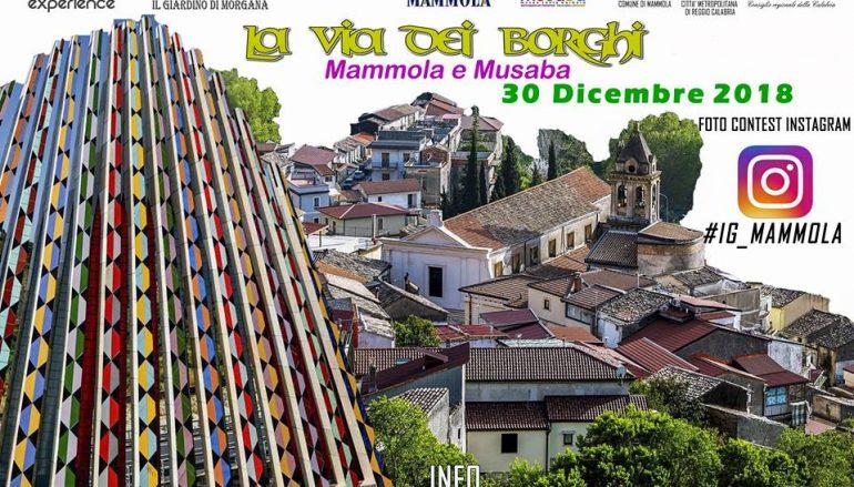 La Via dei Borghi al Musaba ed a Mammola