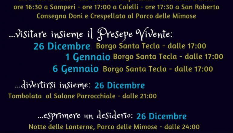 Natale a San Roberto: il programma