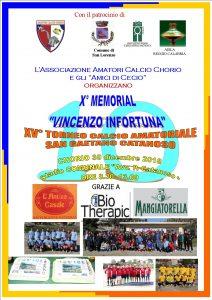 X Memorial Vincenzo Infortuna