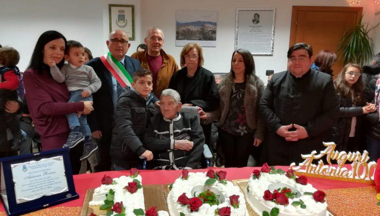 Auguri alla centenaria Antonia Romeo di Roccaforte