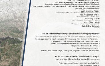 """""""I borghi del Parco dell'Aspromonte"""": convegno a Samo"""