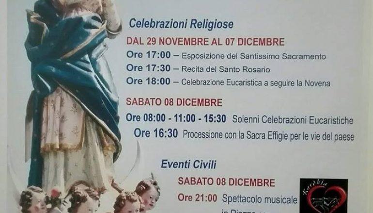 Festa Maria SS Immacolata a Melito Porto Salvo