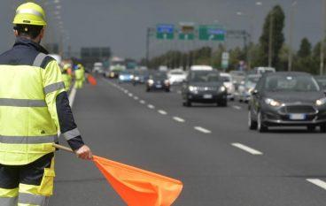 Nuove barriere sul raccordo di Reggio Calabria: lavori