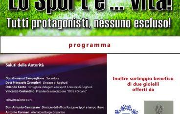 Convegno Sportivo a Roghudi Nuovo