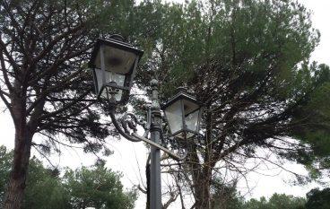 Danni alla Villa comunale di Morano Calabro