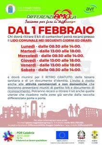 Raccolta differenziata a Reggio