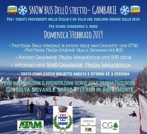 Snow bus dello Stretto