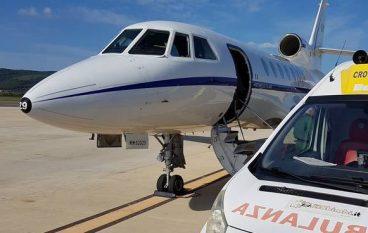 Volo salva vita, 21enne trasportata da Lamezia a Roma