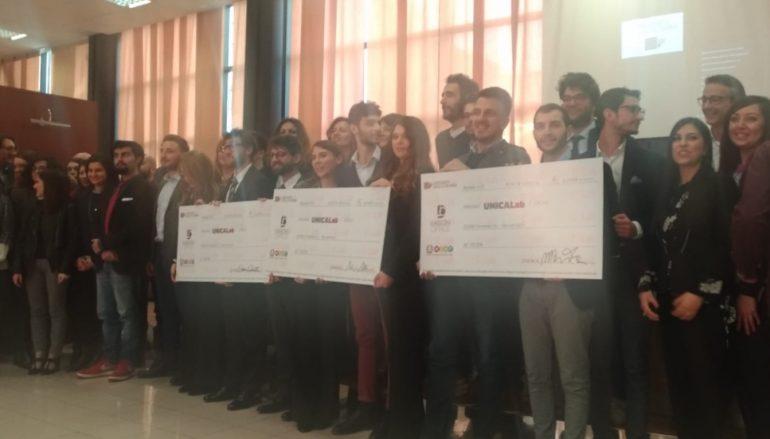 UniCaLab dell'Università della Calabria: i vincitori