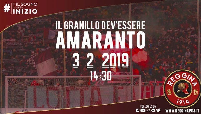 Derby Reggina – Catanzaro, promozione per i tifosi amaranto