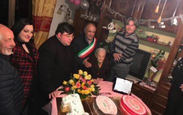 San Lorenzo ha festeggiato i 100 anni di Nonna Francesca