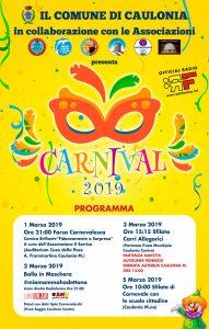 Carnevale 2019 a Caulonia