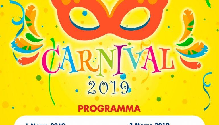 Carnevale 2019 a Caulonia, il programma
