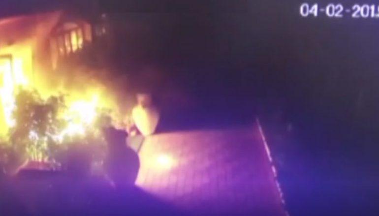 Le Saline Resort in fiamme, malviventi ripresi dalle telecamere
