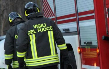 Incendio in una casa di riposo a Croce Valanidi