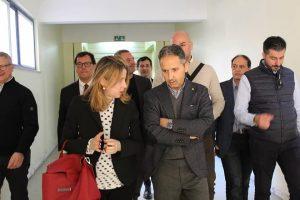 Giulia Grillo visita l'ospedale di Locri