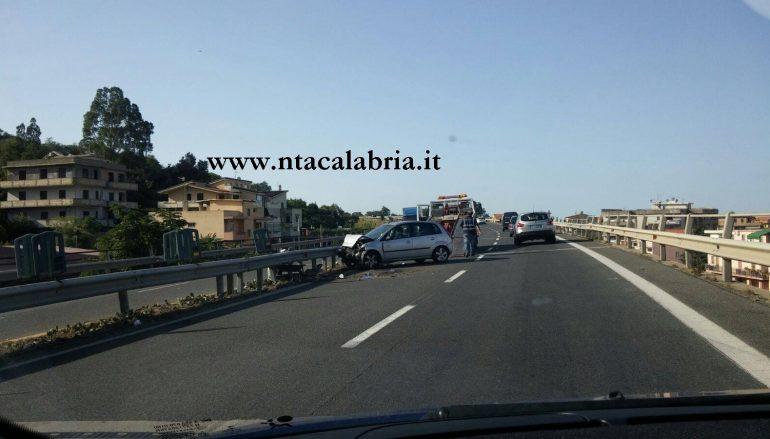 Incidente a Gallico, vari tamponamenti