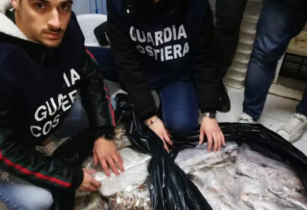 """Operazione """"Undersize 2"""", sequestrate 3 tonnellate di pesce"""