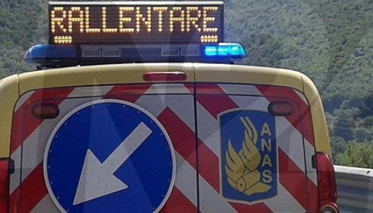 Incidente a Reggio Calabria tra svincoli Porto e Gallico