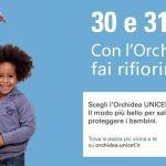 Torna l'Orchidea UNICEF, ecco le piazze