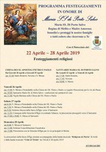 Festa Madonna di Porto Salvo 2019