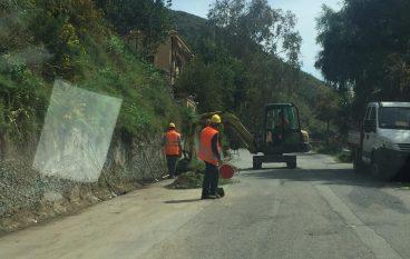 Strada Sant'Elia-Fossato, al via i lavori di sistemazione