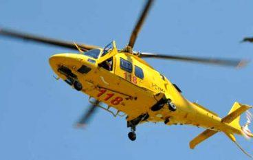 Incidente Vibo, un ferito in elicottero