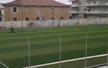 Nuovo campo di calcetto a Bova Marina