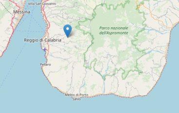 Scosse di terremoto a Reggio Calabria