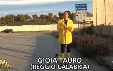 Striscia la Notizia fa tappa a Gioia Tauro