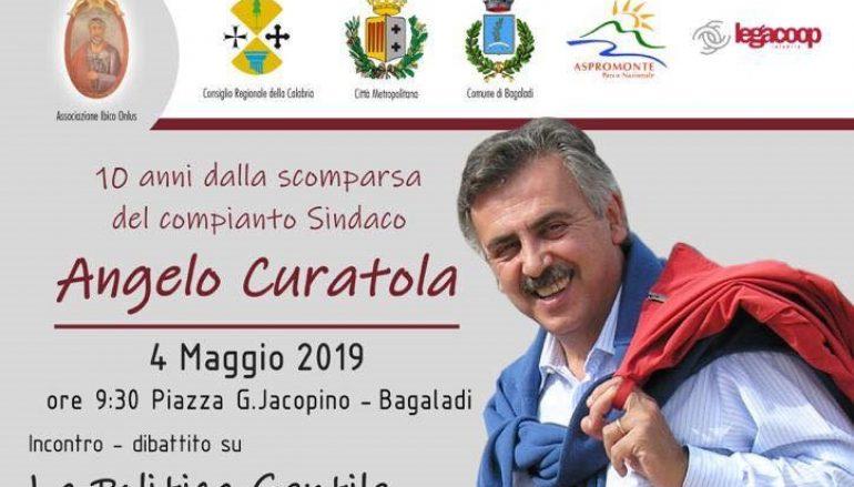 Bagaladi ricorda Angelo Curatola
