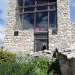 Il Castello di San Niceto in stato di abbandono e degrado