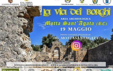 """""""La via dei borghi"""" a Motta Sant'Agata"""