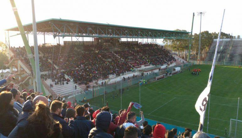 Reggina-Monopoli 0-2, terza sconfitta stagionale per gli amaranto
