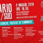 """""""Il Divario Nord – Sud"""", se ne parla a Melito P. S."""