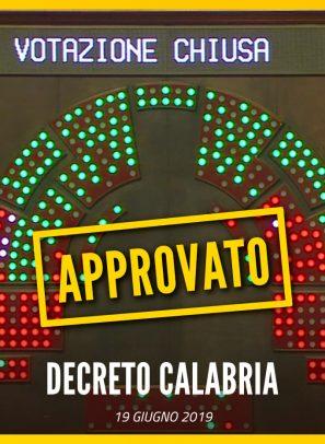 Il Decreto Calabria è Legge