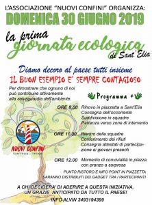 giornata ecologica a Sant'Elia