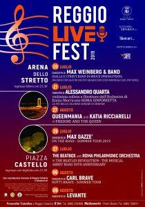 locandina reggio live fest 2019