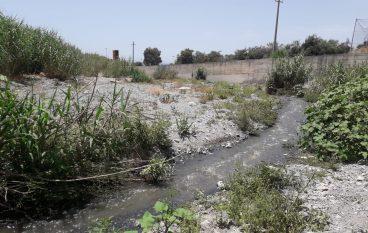 Reflui fognari non depurati nel torrente Sant'Elia