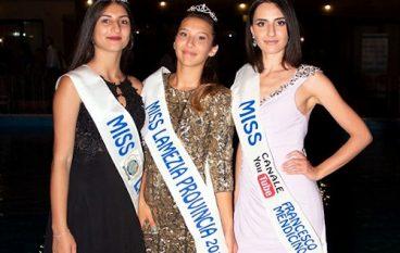 Miss Lamezia Provincia, le vincitrici
