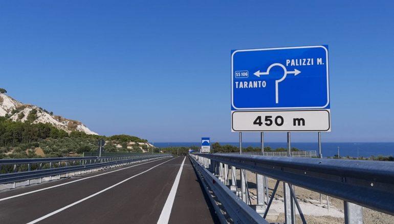 SS 106, variante di Palizzi aperta al traffico