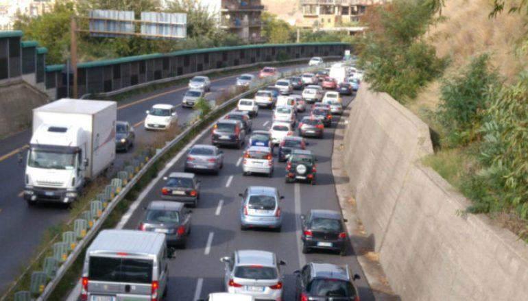 Lavori tangenziale Reggio Calabria, disagi alla circolazione