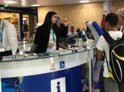 Ripristinati gli Infopoint degli Aeroporti di Lamezia e Reggio Calabria