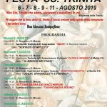 Festa SS Trinità a Marina di San Lorenzo, il programma