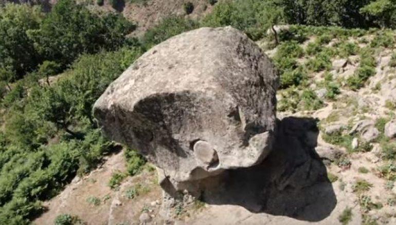 Roghudi, esplorando Rocca del Drako