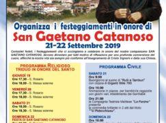 Festa San Gaetano Catanoso 2019 a Chorio