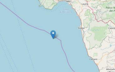 Terremoto a Scalea, tanta paura nel cosentino