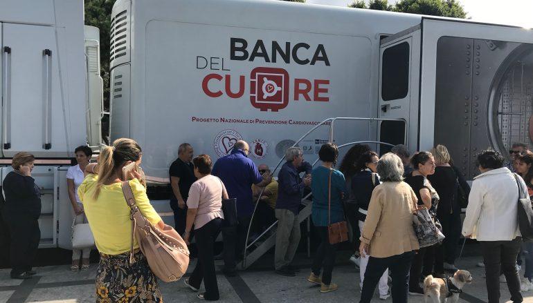 """Grande partecipazione per il """"Truck Tour Banca del Cuore 2019"""" a Reggio Calabria"""